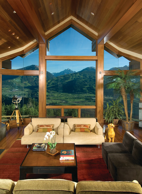 Crandall Residence Contemporary Living Room Other