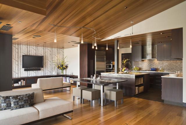 Crane Building Penthouse contemporary-living-room