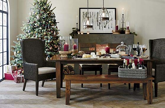 Crate and Barrel at the Holidays