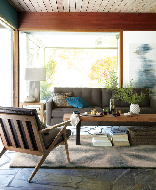 crate and barrel living contemporary living room
