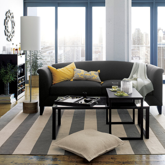 Crate And Barrel Living Contemporary Living Room Chicago By Crate Barrel