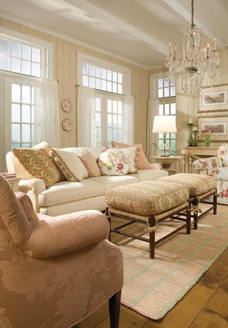 Example of a classic living room design in Minneapolis with beige walls