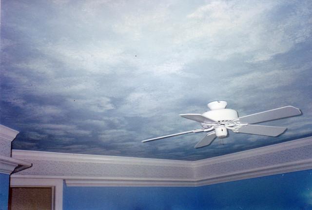 Creative artwork traditional-living-room