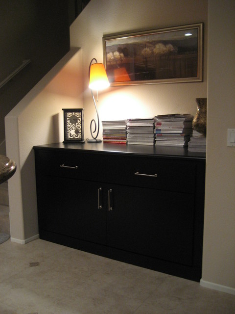 Credenza Storage traditional-living-room