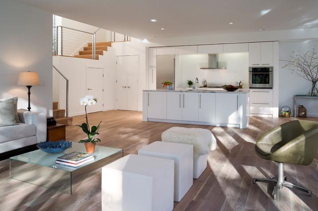 Creek House contemporary-living-room