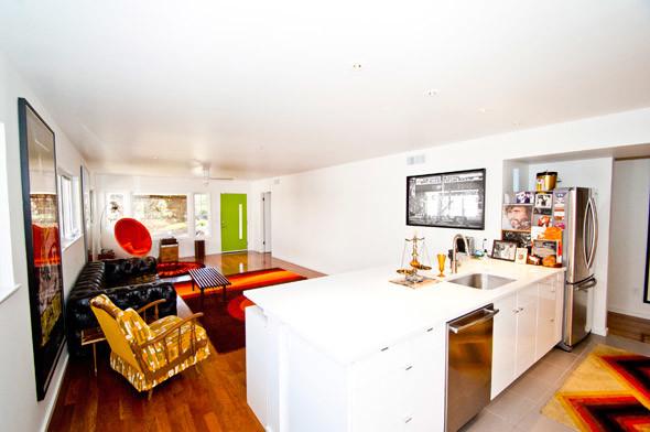 Crestview Doors modern-living-room