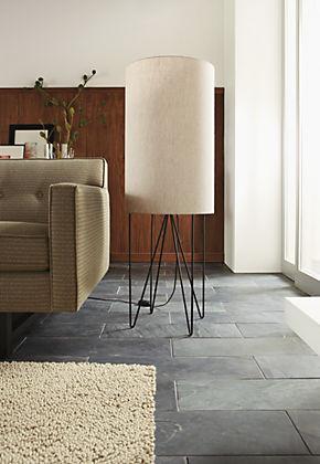 Cricket Floor Lamp by R&B modern-living-room