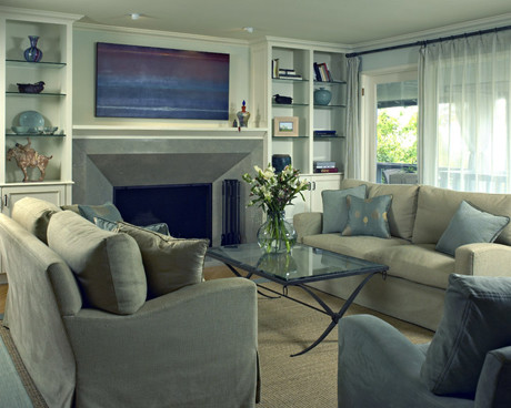 Cridge Design Studio traditional living room