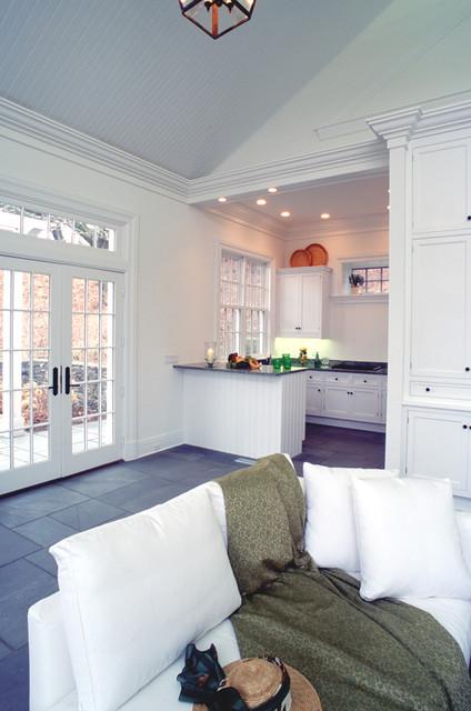 Crisp Architects Traditional Living Room New York