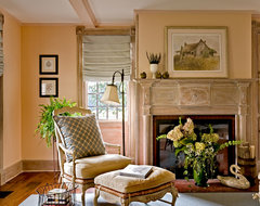 Crisp Architects traditional-living-room