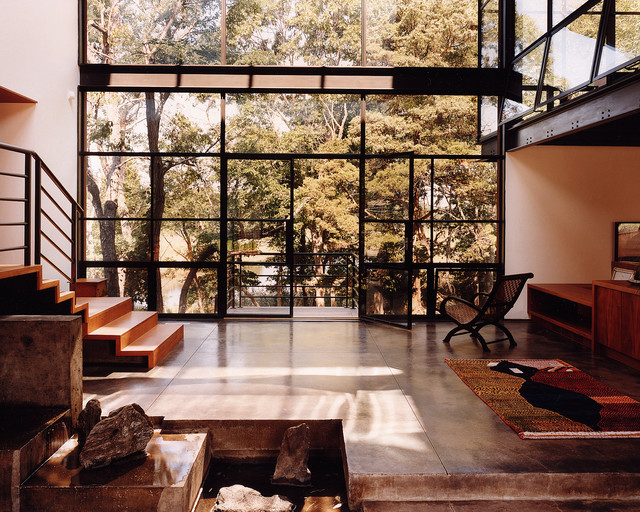 CRITTALL Windows - Modern - Living Room - other metro - by Steel Windows and Doors USA