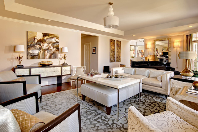 Croasdaile farms contemporary living room wilmington for Interior design ideas teal living room
