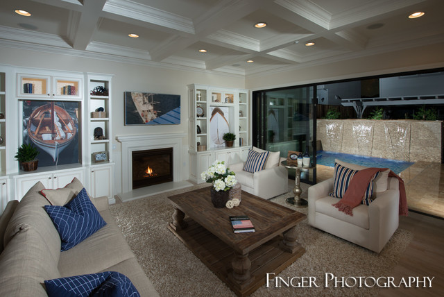 CrossHaven Plan At Jordan Ranch By Toll Brothers Contemporary Living Room San Francisco