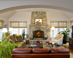 Inviting Family Room contemporary-living-room