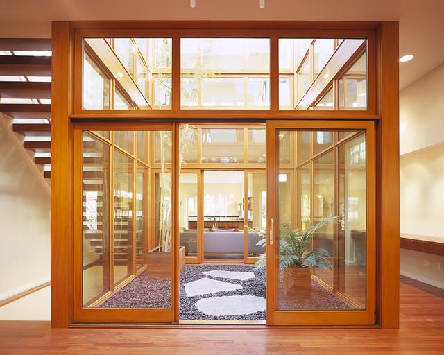 Cube House modern-living-room