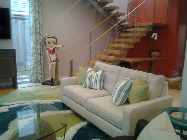 Curry Home contemporary-living-room