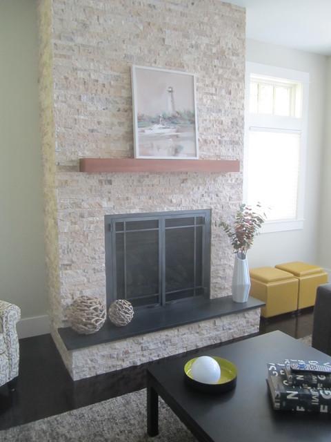 Curtis Lane traditional-living-room