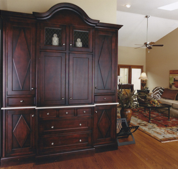 Custom Armoire - Living Room - Chicago - by d+b kitchen design concepts
