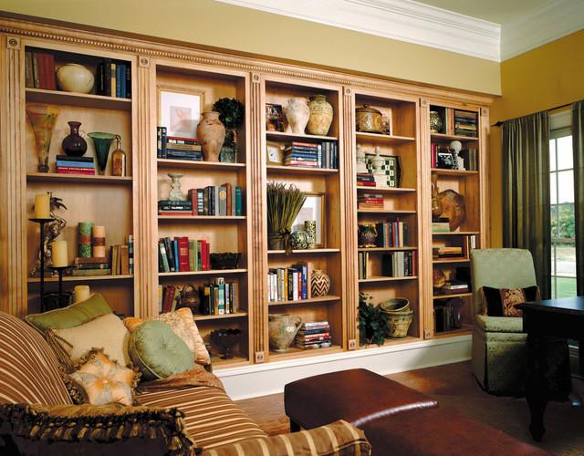 Custom bookcase traditional living room philadelphia for Custom bookcase plans