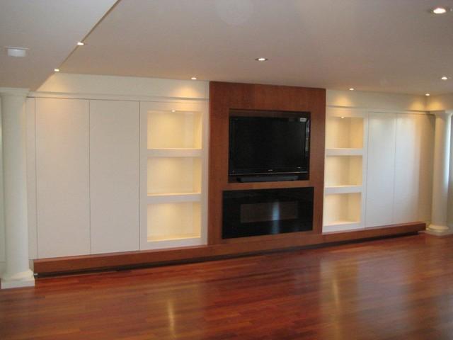 Custom Built In Cabinetry living-room