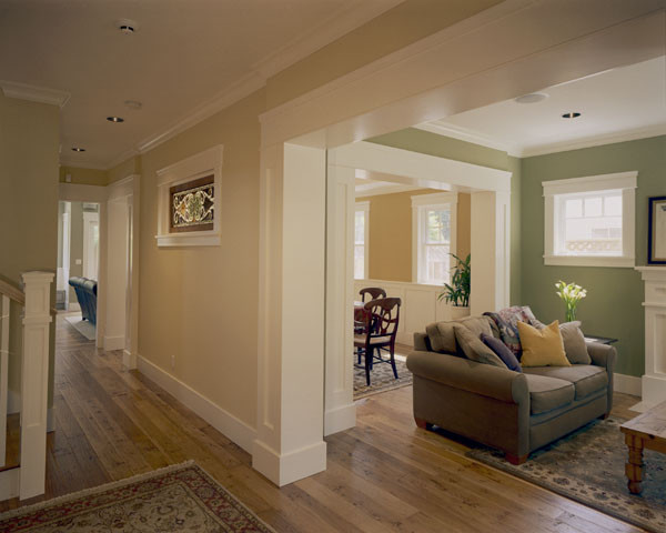 Custom Craftsman Craftsman Living Room Other Metro By Jca Architects