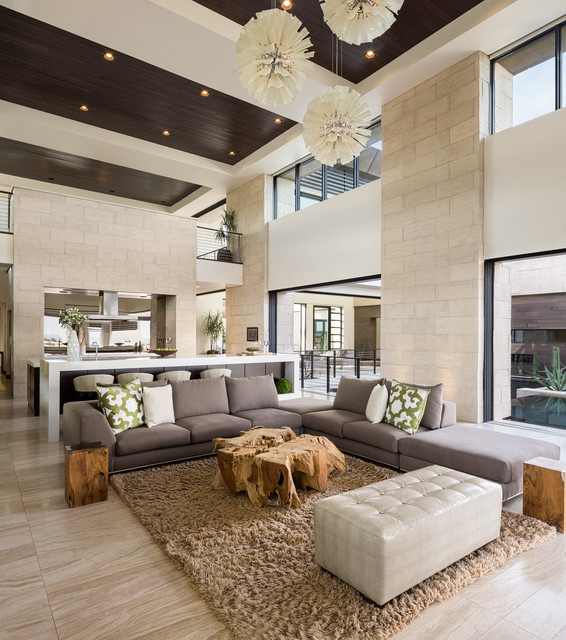 Design Build Firms. The New American Home 2013/Marquis Seven Hills  Contemporary Living Room Part 51