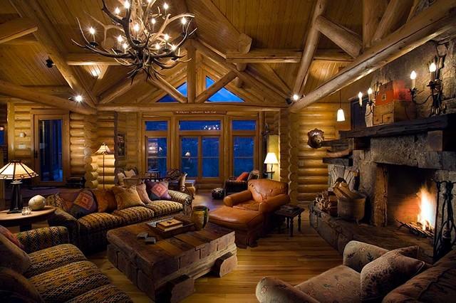 Custom Design (Loon Mountain) living-room