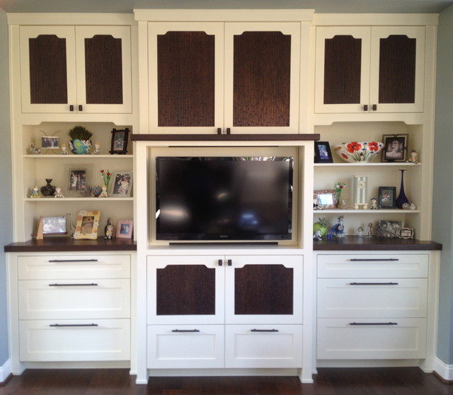 Custom Entertainment Center - Traditional - Living Room - san luis ...