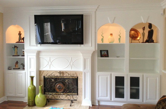 Custom Fireplace Mantels And Cabinets Design And Build Up