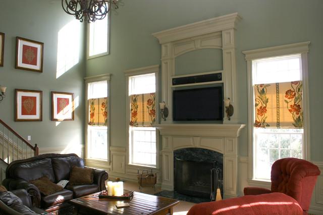 Custom Fireplace mantles, build-ins - Classico - Soggiorno ...