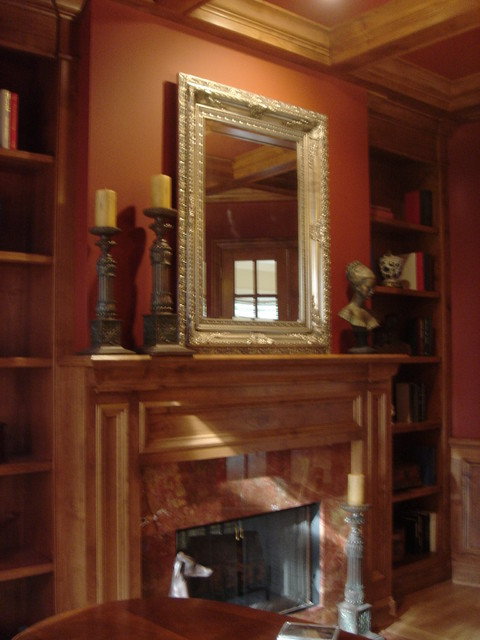 Custom Fireplaces traditional-indoor-fireplaces
