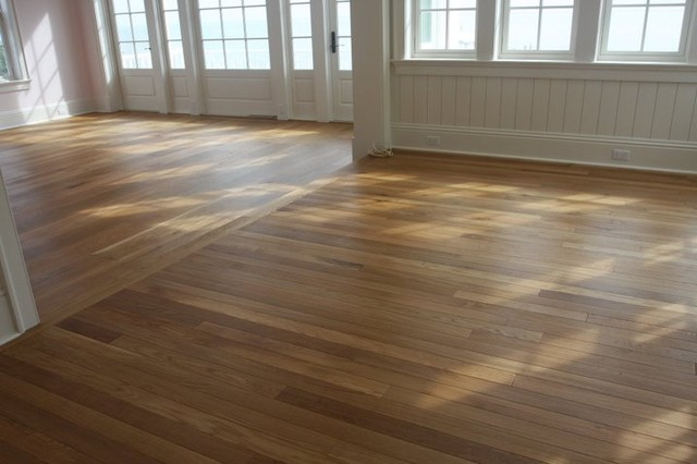 Custom Floors Living Room Craftsman