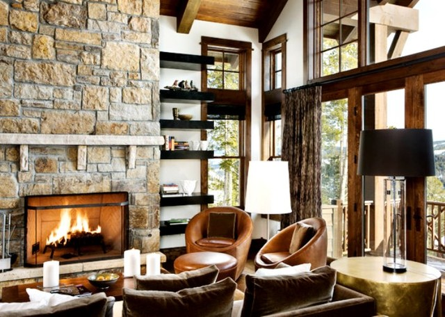 Country Living Rooms In San Antonio