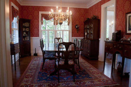 traditional dining rooms by jason barwick - Custom Rooms