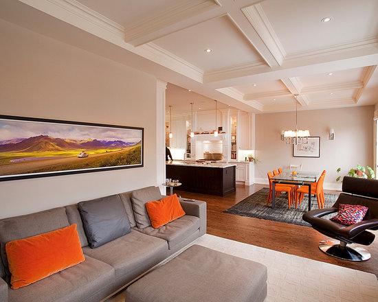 Contemporary living room walker sofa set klaussner kl bo sofa set living room sets by