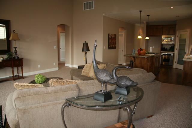 Custom Homes - Various traditional-living-room