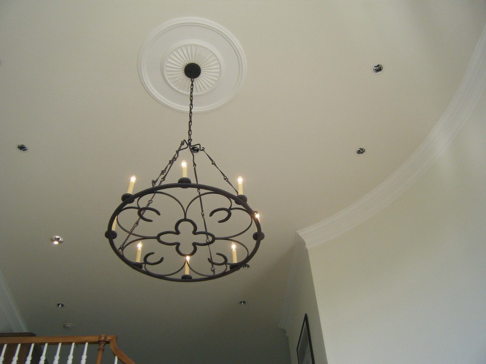 Custom Horseshoe Chandelier