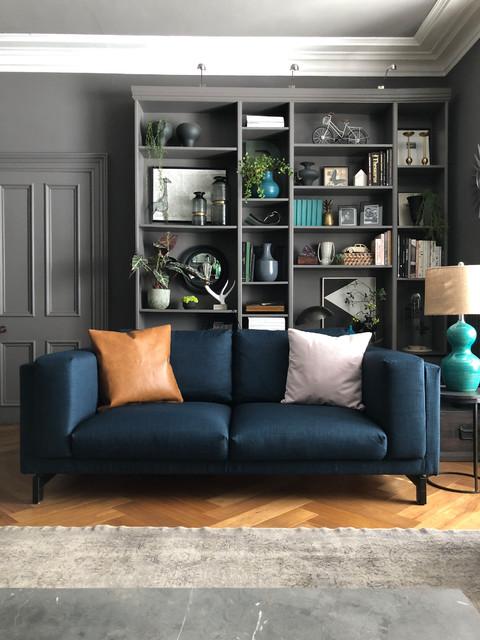 Custom Ikea Nockeby Loveseat Sofa