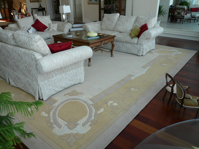 Custom Made Rugs traditional-living-room