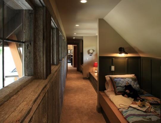 Custom Mountain Home- Suncadia traditional-living-room