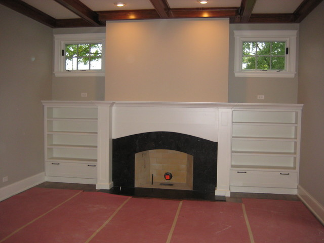 Custom Offsite Homes by Airhart Construction traditional-living-room