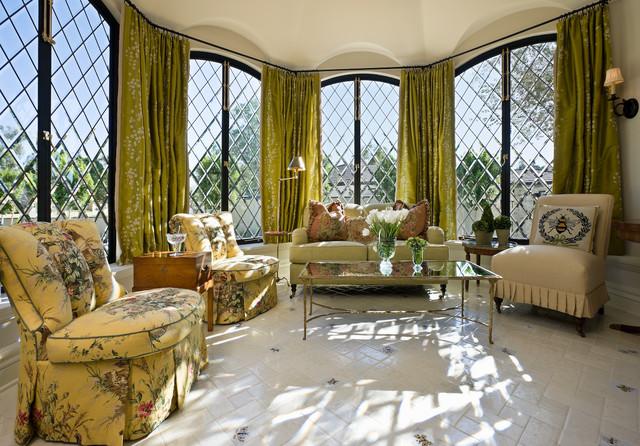 Custom Residence traditional-living-room