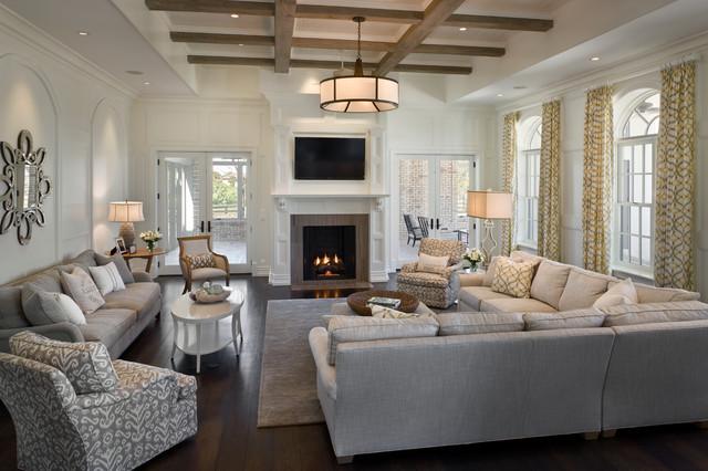 Custom Residence Contemporary Living Room Orlando