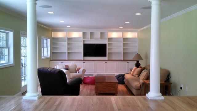 Custom Space contemporary-living-room