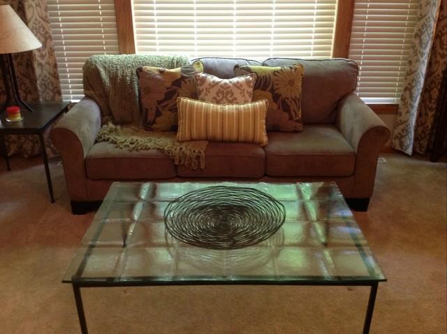 Custom Throw Pillows - Traditional - Living Room - Minneapolis - by Aero Drapery & Blind