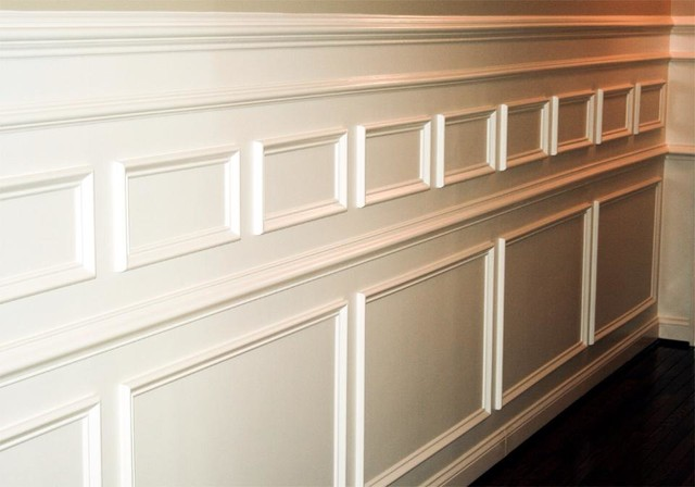 Custom Wainscoting Crown Molding And Trim In Wilmington