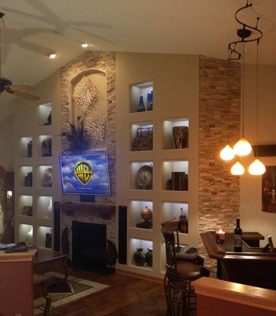 Large Niche Decorating Ideas: Custom Wall Niches