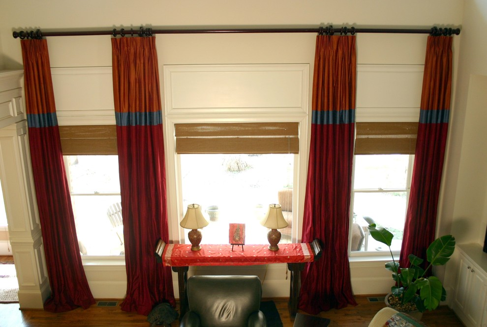 Custom Window Treatments Two Story