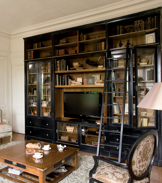 customizable wall units traditional living room new