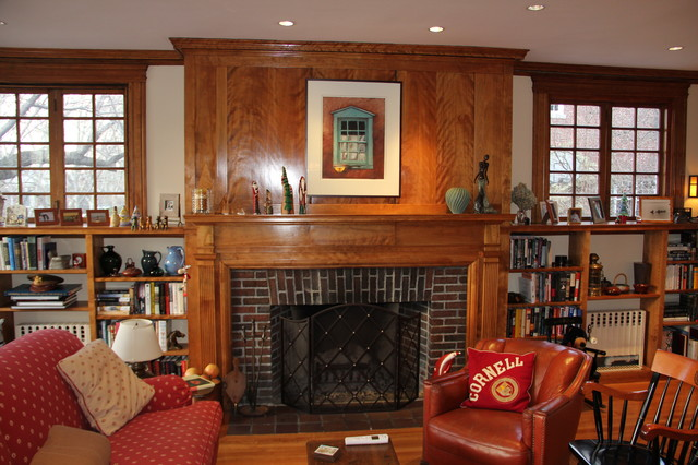 CustomWorks traditional-living-room